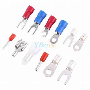 1000Pcs 24 Types Insulated Crimp Terminals Kit Electrical ...