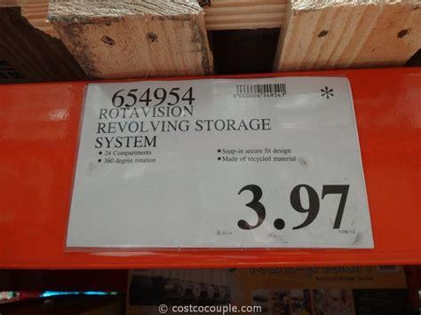 rotavision revolving storage system