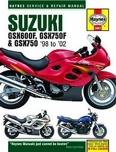 Suzuki Gsx600f Haynes Repair Manual  1998 - 2002