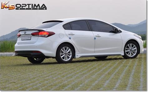 optima store   kia forte sedan roof spoiler
