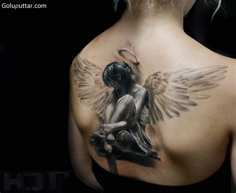 3d Angel Tattoos