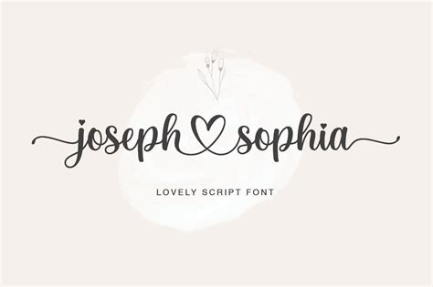 joseph sophia calligraphy script font dafont