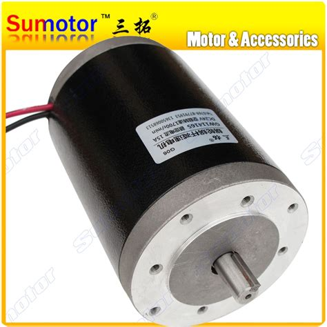 High Power Electric Motor by R114165 3500rpm Dc 24v 48w 700w Durable Brush High Speed