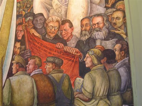 Stalinist Mural Diego Rivera Rockefeller Center by File Diego Rivera Commies Jpg Wikimedia Commons