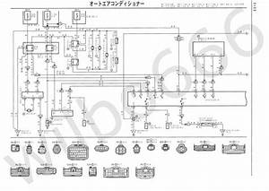 Car  U0026 Truck Repair Manuals  U0026 Literature 1993 Toyota Supra Wiring Diagrams Schematics Layout