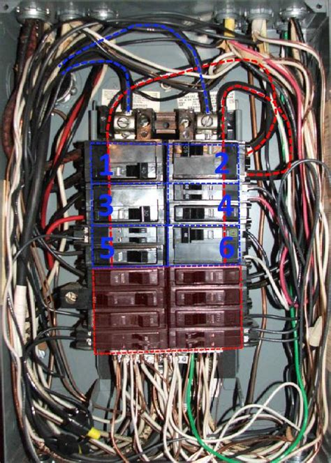 Mobile Home Meter And Breaker Box Wiring by My Electrical Panel Has No Breaker Is That A Problem