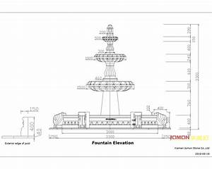Fountain Detail Drawing Images, Water Fountain Design