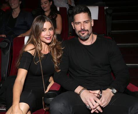 sofia vergara husband joe sofia vergara and joe manganiello at we are x la premiere