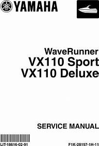 Yamaha Waverunner Vx1100 2005