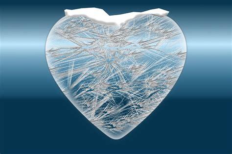 frozen heart  stock photo public domain pictures