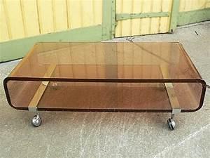 Table Basse En Plexiglas : les dedees vintage recup creations la table basse ~ Teatrodelosmanantiales.com Idées de Décoration