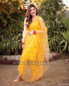 Latest Bridal Mehndi Dresses Designs 2020-2021 Collection