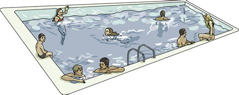Swimming Clip Inground Pool Clipart Clipart Suggest