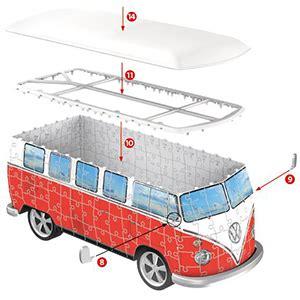 ravensburger 3d puzzle volkswagen t1 puzzle anleitung