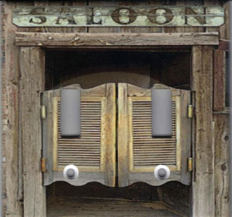 western saloon doors home decor double light switch plate
