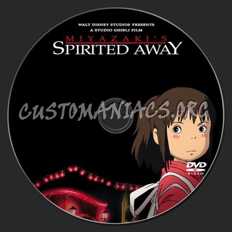 spirited away l post dvd covers labels by customaniacs view single post