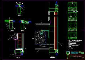 Curtain Wall Detail DWG Detail for AutoCAD • Designs CAD