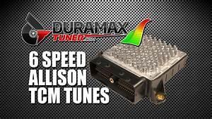 Six Speed Allison Tcm Tune Advantages