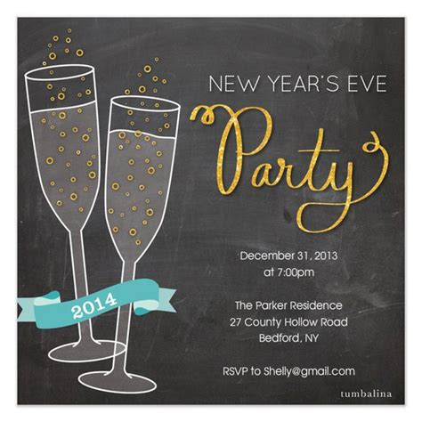 years eve invitations template