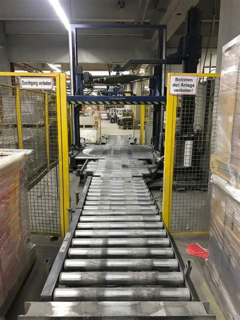 mosca cyklop pallet strapping  foil wrapping system shrink wrapping machines rob son