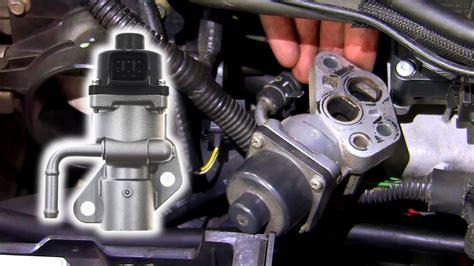 remove inspect egr valve ford duratec  mondeo