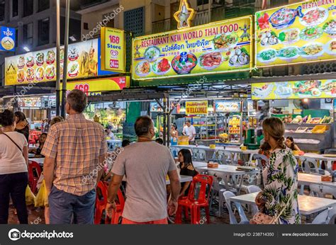 kuala lumpur malaysia july street food vnedors jalan alor