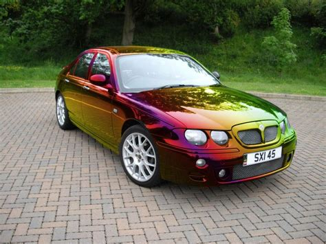 pistonheads  resprayed  black mg zt  rainbow