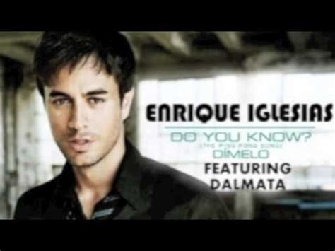 Do You Know Enrique Iglesias