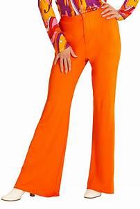 Matrosin Kostüm Damen Mit Hose : hippie hose damen kost m orange flower power hose 70er 80er jahre schlaghose kk ebay ~ Frokenaadalensverden.com Haus und Dekorationen
