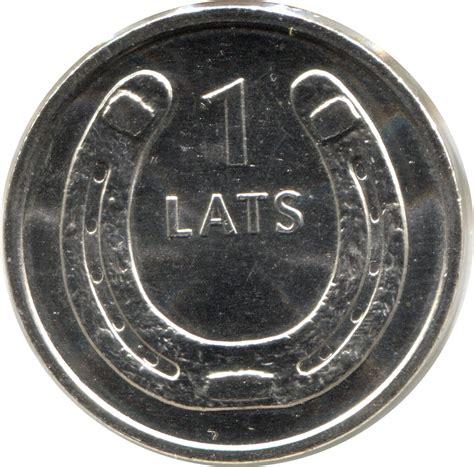 1 Lats (Horseshoe, upwards) - Latvia - Numista
