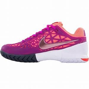 Nike Zoom Cage 2 Women's Tennis Shoe Fuchsia/white/lava