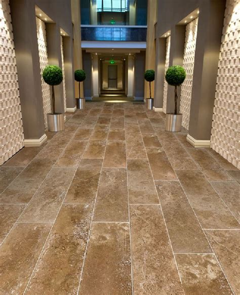 large travertine tile large format 12 quot x 26 quot coco travertine tiles from royal stone tile contemporary hall los