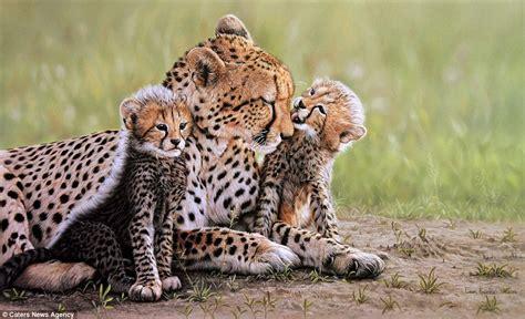 Painting African Wildlife Animals