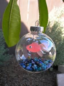 11 best photos of clear christmas ornaments ideas fish christmas ornament crafts clear