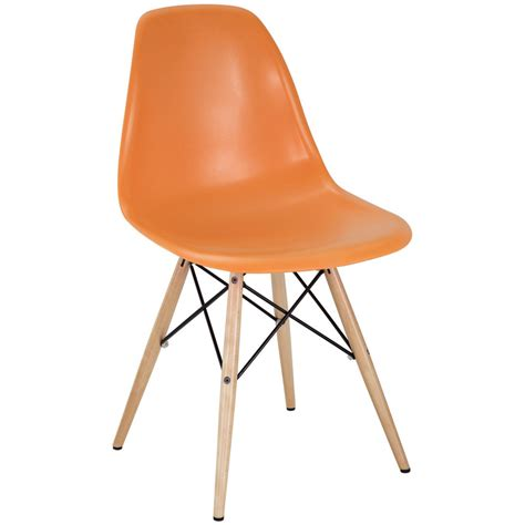 eames style dining chairs eames molded plastic chair replica