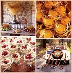 wedding reception food ideas lq designs fall wedding ideas