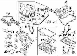 Ford Fusion Engine Valve Cover Gasket  3 0 Liter  Fusion