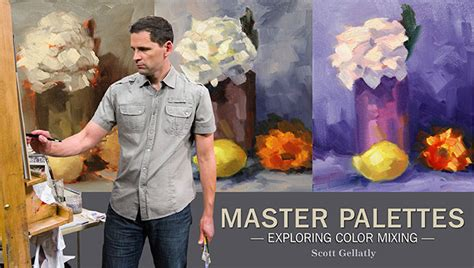Master Class Color by Master Palettes Exploring Color Mixing A Craftsy