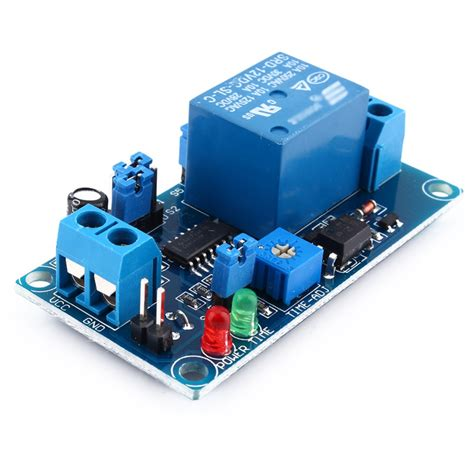 Delay Relay Switch Module Timer Normally Open