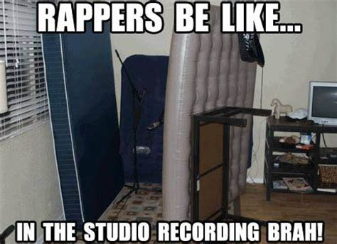 Studio Memes - rappers be like in the studio recording r loops shop