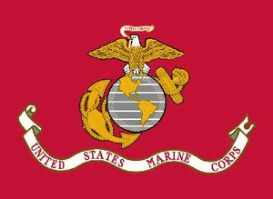 marines  superknit polyester flag  images