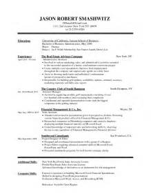 Pl Sql Developer Resume Format by Resume Experience In Word Format Resume Format