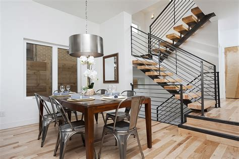 Modern Stair Railing For Cool Interior Staircase