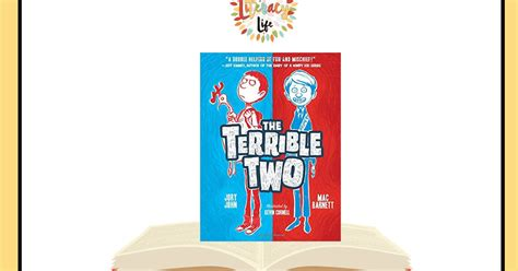 The Terrible Two Invade Book Talk Thursday! This