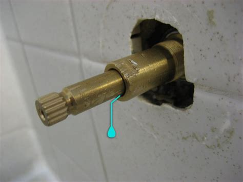 fixing a leaking faucet stem pin leaking shower faucet repair 2002 audi a4 on