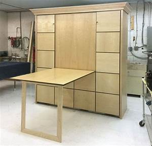 Multiple, Fold, Down, Table, Murphy, Bed, Options