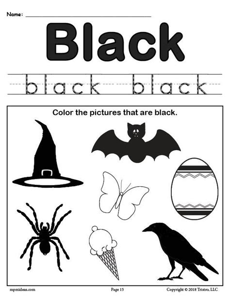 black worksheet free color black worksheet supplyme