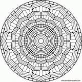 Kaleidoscope Coloring Books Pages sketch template