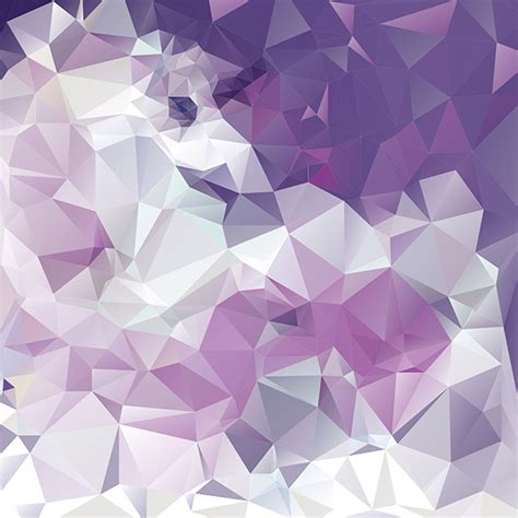 Purple Polygonal Abstract Vector Background Welovesolo