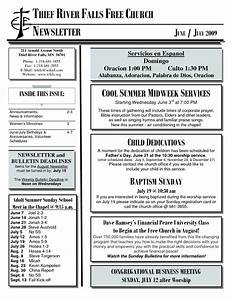 8 best images of church newsletter format youth church With free christian newsletter templates
